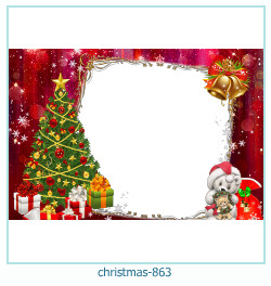 Marco de la foto de la navidad 863
