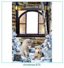 Vánoční foto rámeček 876