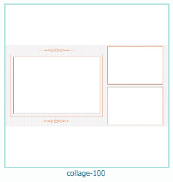 Collage picture frame 100