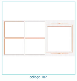 Collage picture frame 102