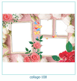 Collage picture frame 108