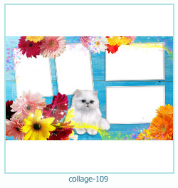 Collage picture frame 109