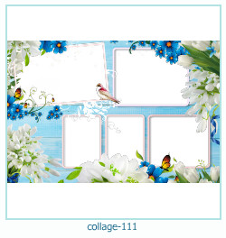 Collage picture frame 111