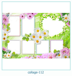Collage picture frame 112