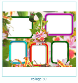 Collage picture frame 89
