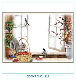 decorativo Photo marco 100