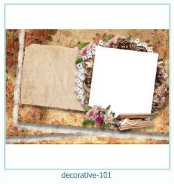 decorativo Photo marco 101