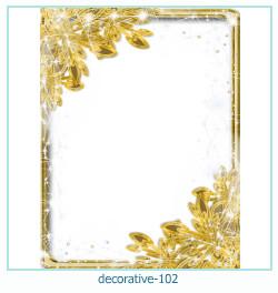 decorativo Photo marco 102