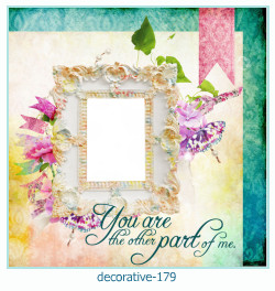 decorative Photo frame 179