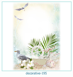 decorative Photo frame 195