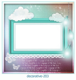 decorative Photo frame 203