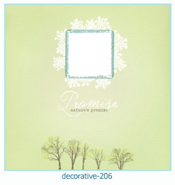 decorative Photo frame 206