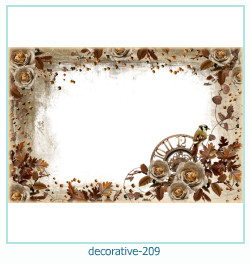 decorative Photo frame 209
