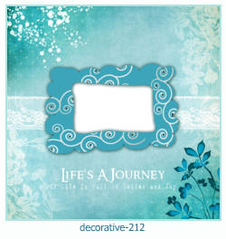 decorative Photo frame 212