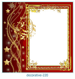 decorative Photo frame 220