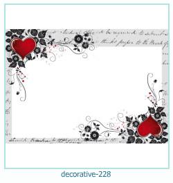 декоративная рамка 228 Фото