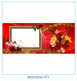 decorativo Photo marco 271