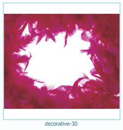 सजावटी फोटो फ्रेम 30