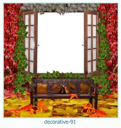 decorativo Photo marco 91