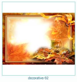 decorativo Photo marco 92