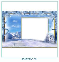 decorativo Photo marco 95