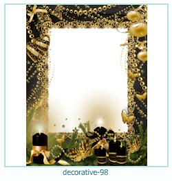 decorativo Photo marco 98