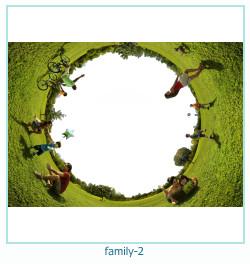 2 Photo frame família