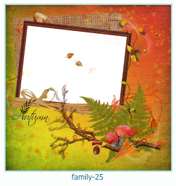 family Photo frame 25