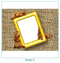 3 Photo frame família