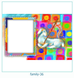 family Photo frame 36