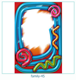family Photo frame 45