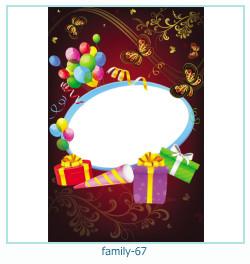 67 Photo frame família