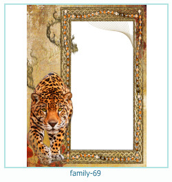 69 Photo frame família