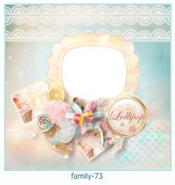 73 Photo frame família