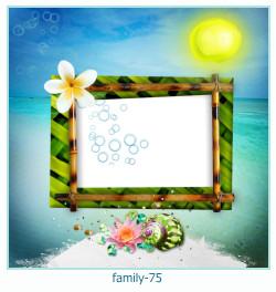 75 Photo frame família