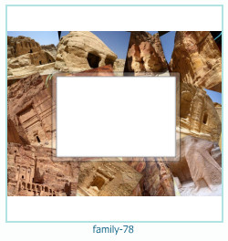 78 Photo frame família