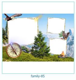85 Photo frame família