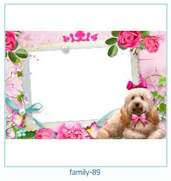 92 Photo frame família