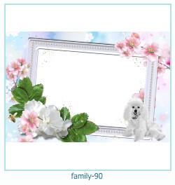 93 Photo frame família