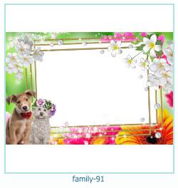 94 Photo frame família