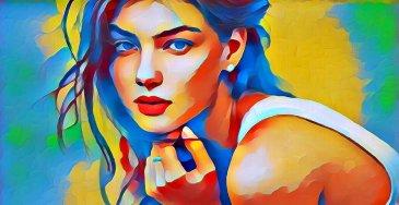 efecto de la foto paint13