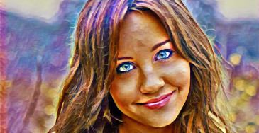 efecto de la foto paint23