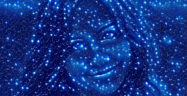 estrelas dreamscope efeito de foto