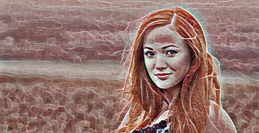 efecto de la foto dreamscope Mozaic