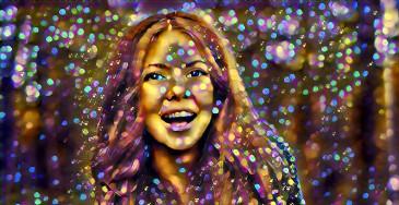 बुलबुले dreamscope फोटो प्रभाव