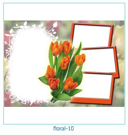 Floral Collages Frames 10