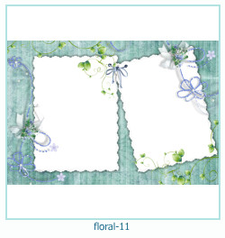 Floral Collages Frames 11