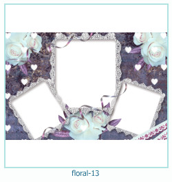 Floral Collages Frames 13