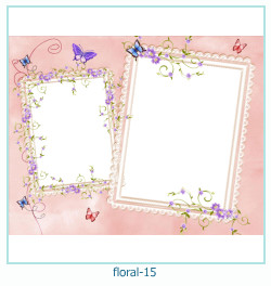Floral Collages Frames 15