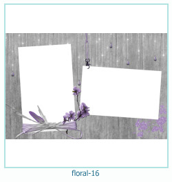 Floral Collagen Frames 16